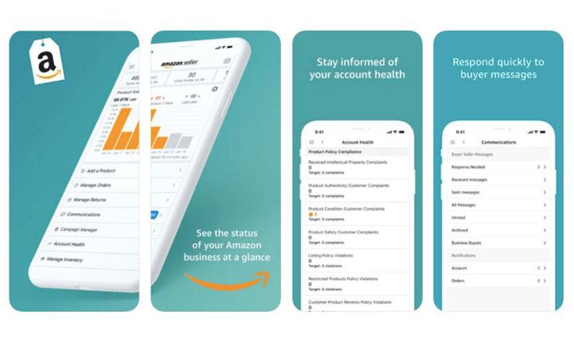 Amazon.com.tr'den KOBİ'lerin satışlarını mobilden takip etmelerini sağlayan uygulama