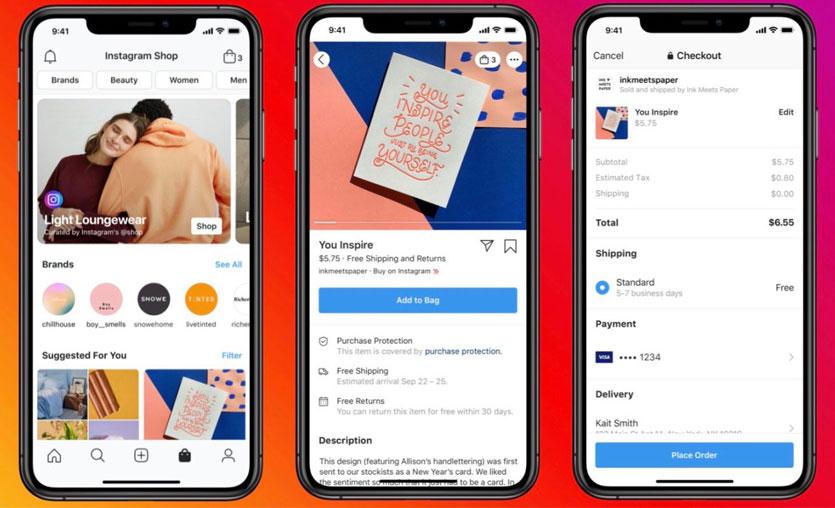 Facebook ve Instagram'a yeni satış platformu: Facebook Shops