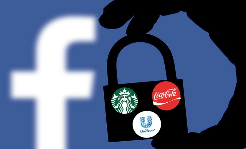 Coca-Cola, Unilever ve Starbucks'tan sosyal medya reklamlarını durdurma kararı