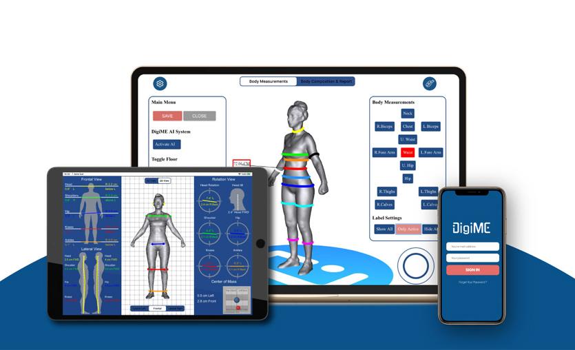Üç boyutlu vücut analizi girişimi DigiME, 3,8 milyon TL yatırım aldı