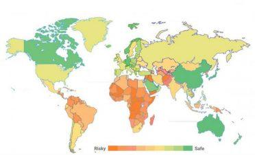 Koronavirüs'te en güvenli ülkeler haritası [Araştırma]