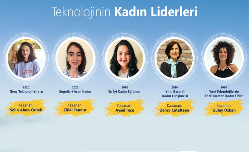 Teknolojinin Kadın Liderleri yarışmasında kazananlar belli oldu