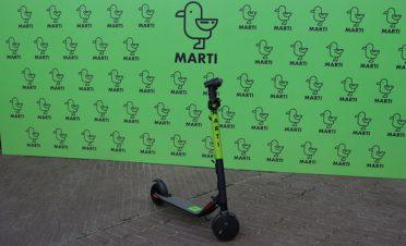 Elektrikli scooter kiralama şirketi Martı'ya 25 milyon dolarlık yatırım