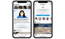 Facebook ve Instagram'a maske takma uyarısı geliyor
