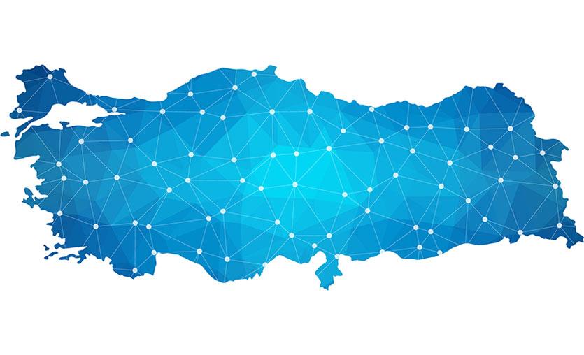 Türkiye genelinde bölge bölge coronavirus haritası