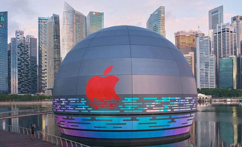 Apple, su üzerindeki ilk mağazasını açıyor