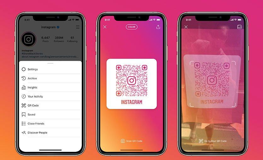 Instagram QR kod özelliğini hayata geçirdi