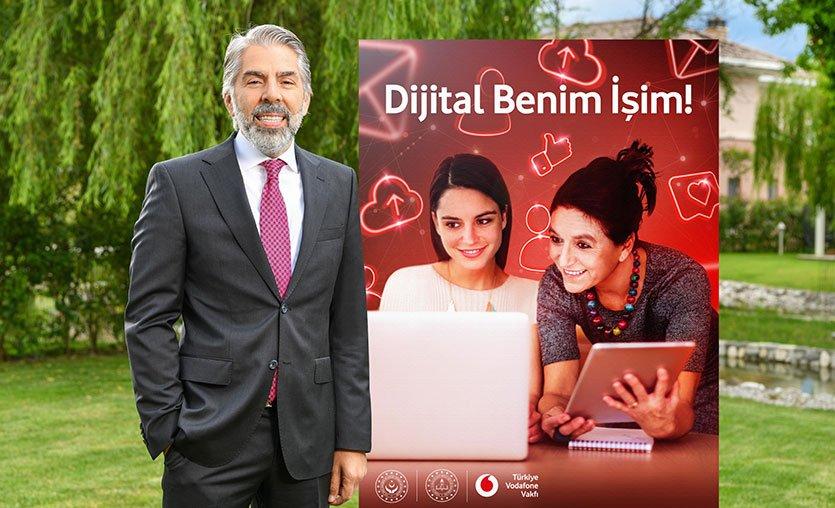 """Vodafone Vakfı desteğiyle kadınlara """"Dijital Okuryazarlık"""" ve """"Dijital Pazarlama"""" eğitimleri verilecek"""