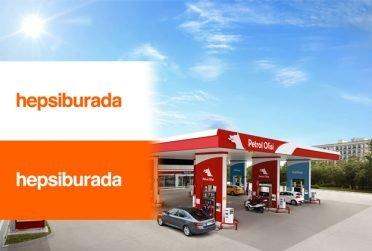 Hepsiburada kullanıcıları, siparişlerini artık Petrol Ofisi istasyonlarından alabilecek