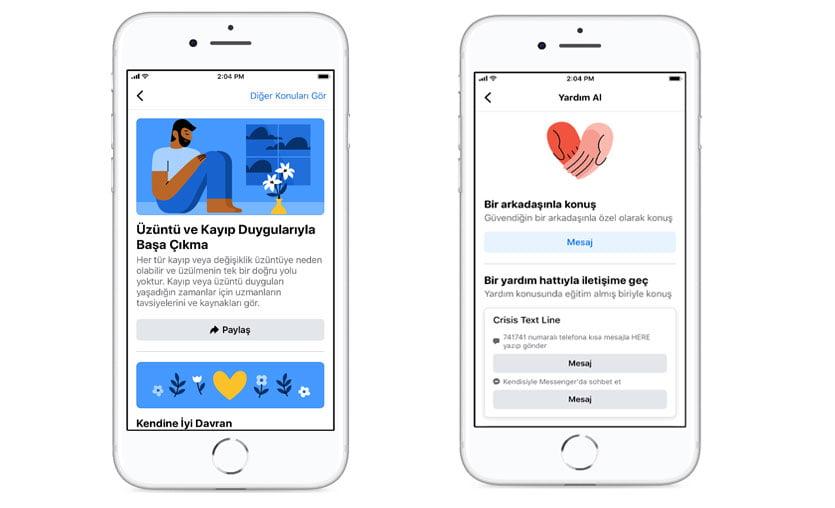 """Facebook """"Duygusal Sağlık Kaynak Merkezi""""ni hayata geçirdi"""