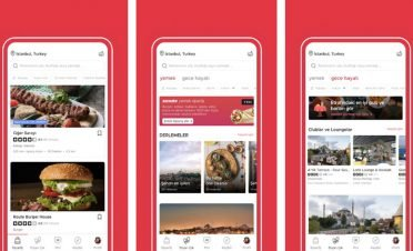 Zomato online yemek siparişi servisi İstanbul'da