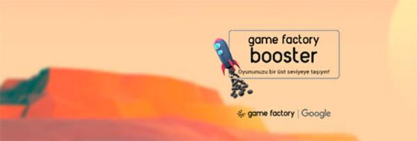 Google ve Game Factory'den oyun girişimlerine destek