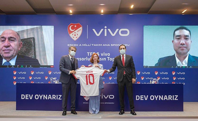 Vivo, Erkek A Milli Takım'ın yeni ana sponsoru oldu