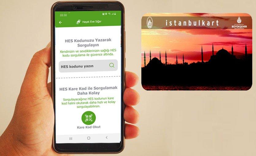 Toplu taşımada zorunlu olan İstanbulkart HES kodu eşleşmesi nasıl yapılır?