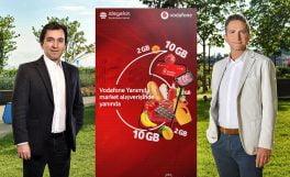 Vodafone, istegelsin işbirliğiyle online market dünyasına girdi: Süpermarket Yanımda