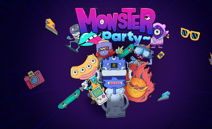 realme'den ödüllü oyun: Monster Party