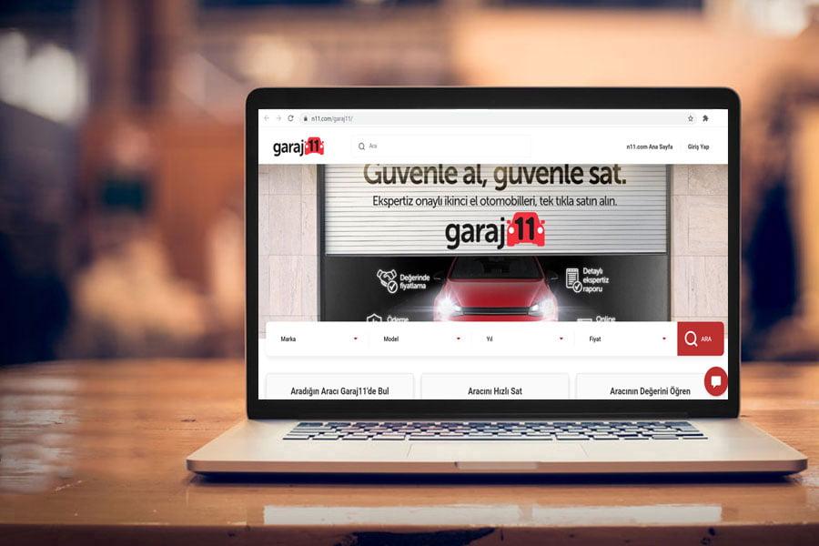 n11.com'dan ikinci el otomobil platformu: garaj11