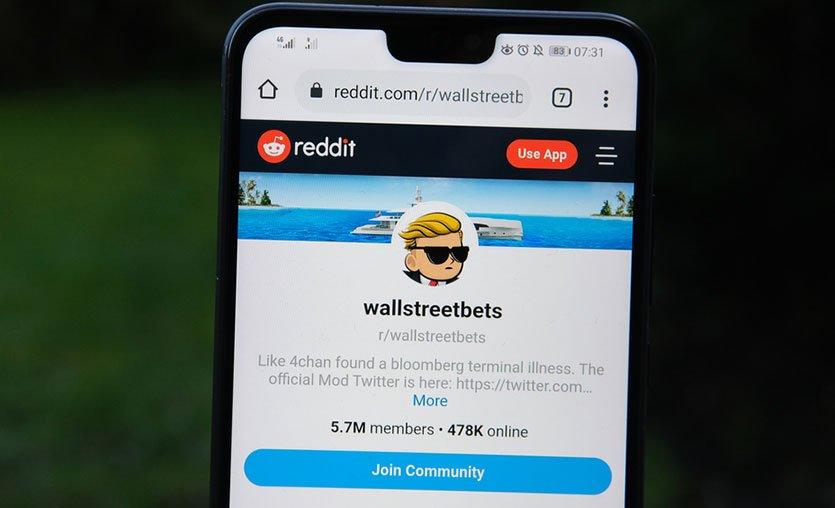 Reddit gençliği vs. WallStreet kurtları