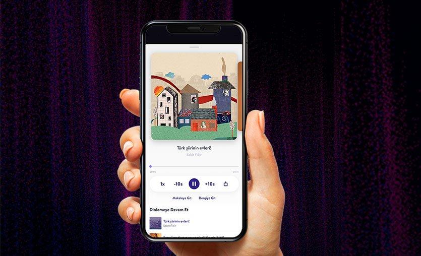 Turkcell'in dijital dergi platformu Dergilik'te podcast dönemi başladı